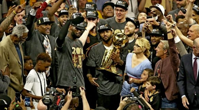 "Cleveland Cavaliers Bring A NBA Championship Back To ""The Land"""