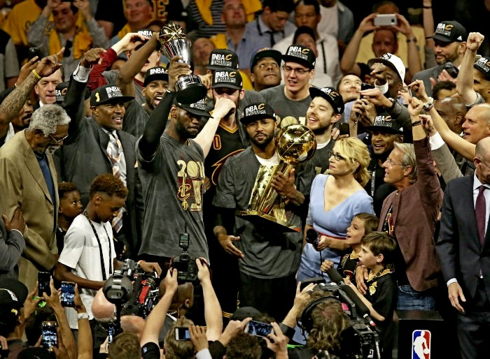 """Cleveland Cavaliers Bring A NBA Championship Back To """"The Land"""""""