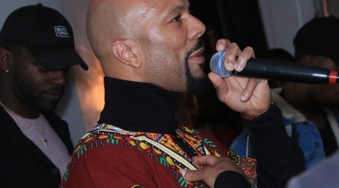 Oscar & Grammy Winner Common Hosts The African Get Down