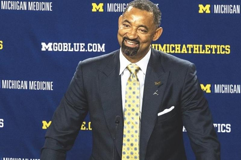 University of Michigan Alum And Fab Five Star Juwan Howard Returns To Ann Arbor As The Head Men's Basketball coach