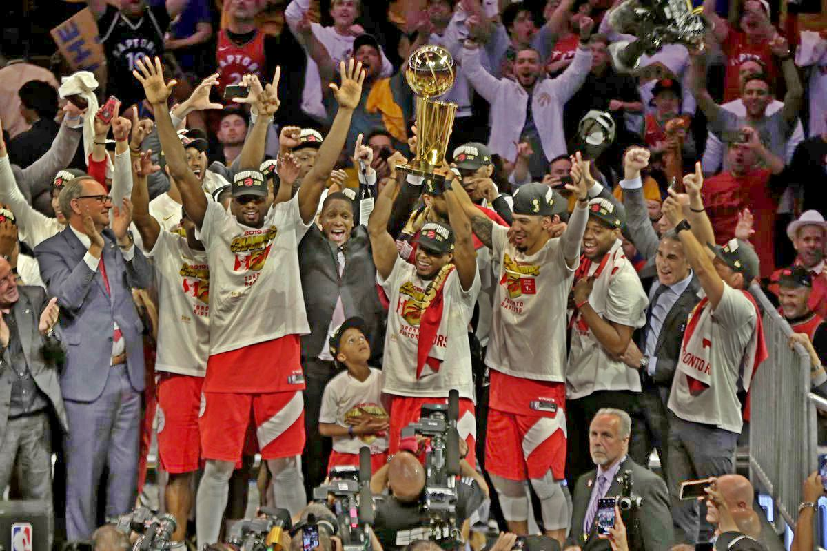 Toronto Raptors Win Their First Championship in Franchise History