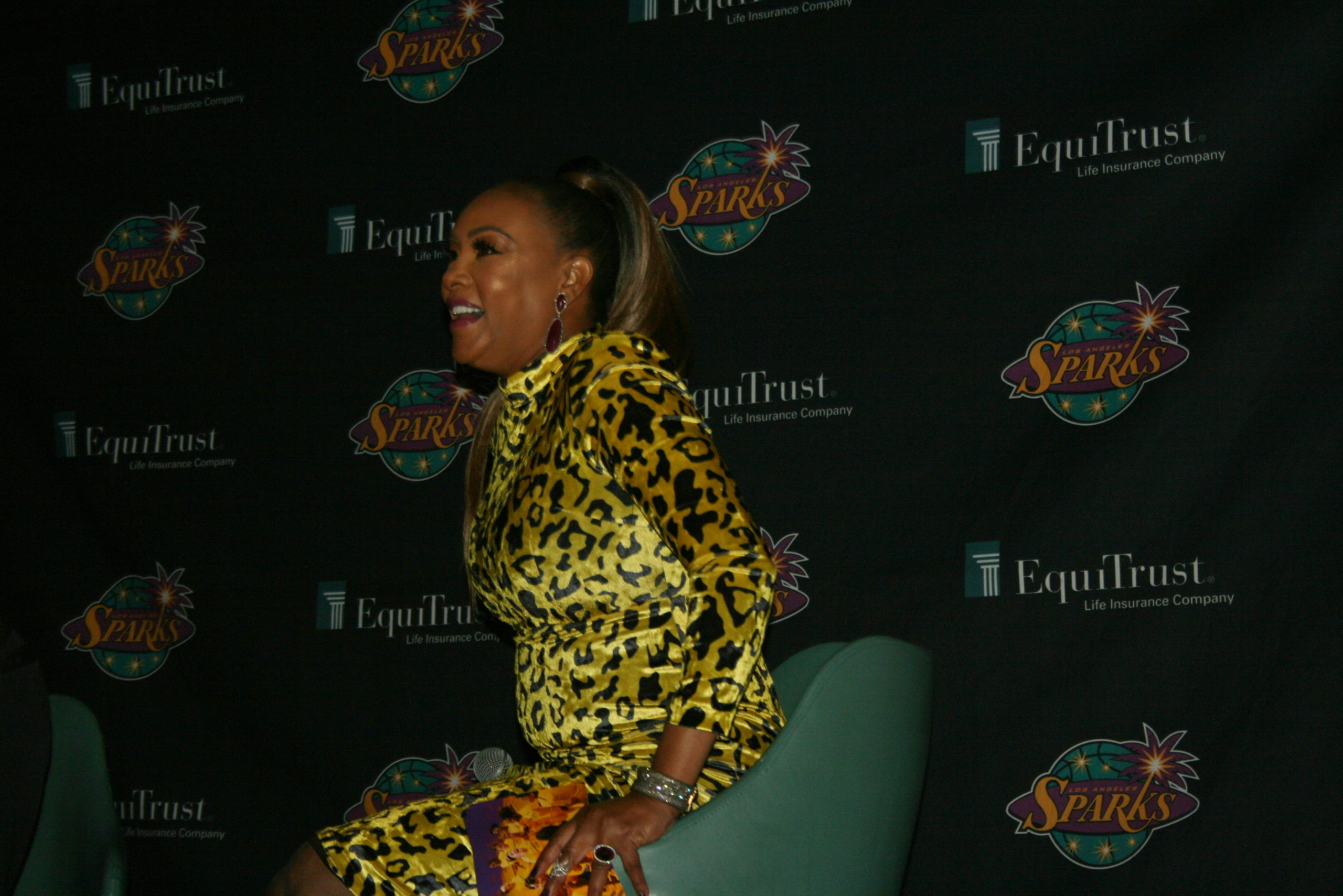 Actress, Producer And Entrepreneur Vivica A. Fox Talks To ESHE Magazine At The Purple Print