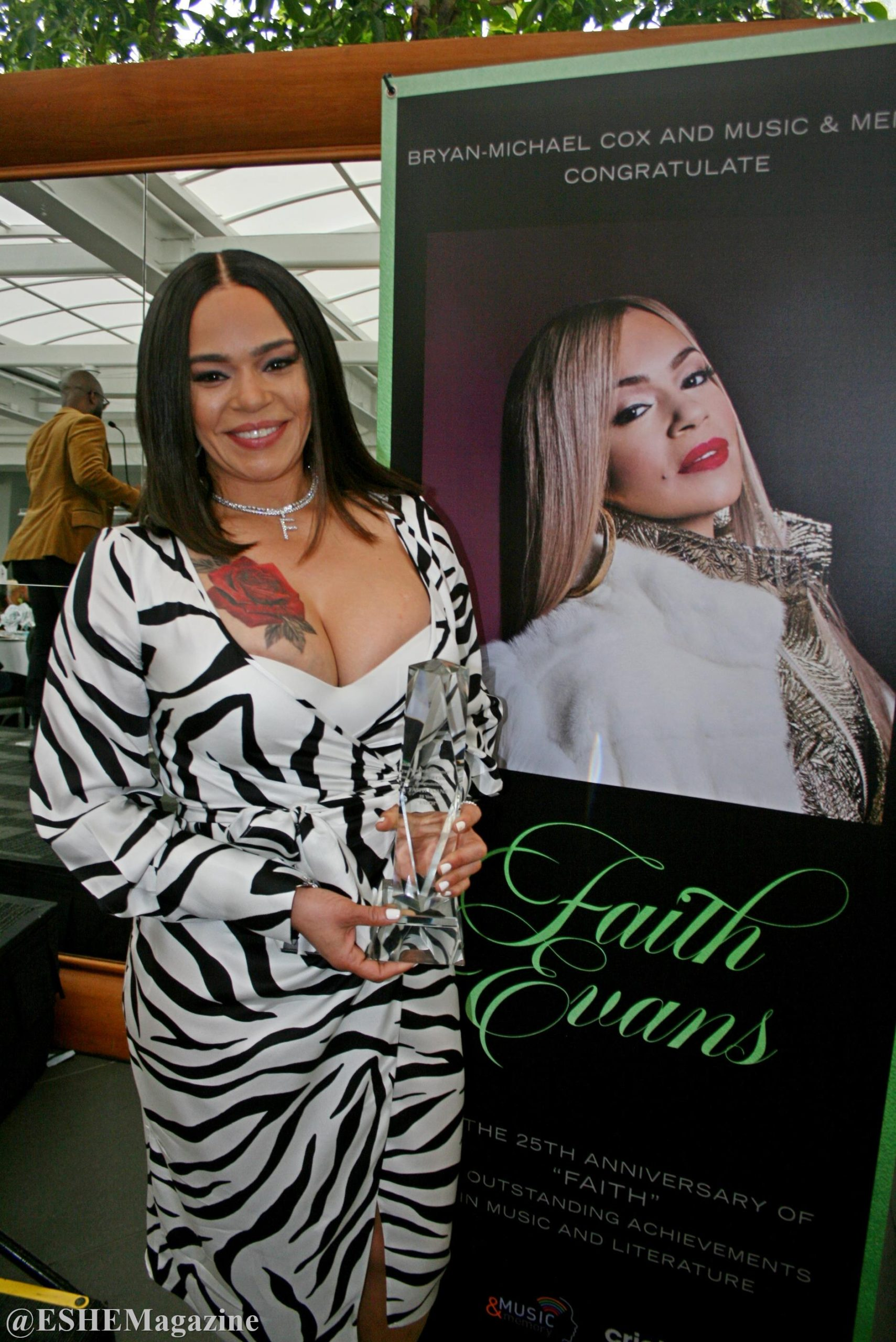 Grammy Award Winner And Music Legend Faith Evans Honored