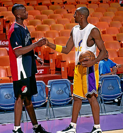 Rookies Kobe Bryant And Jermaine O'Neal Talk About Their Transition To The NBA Straight Out Of High School