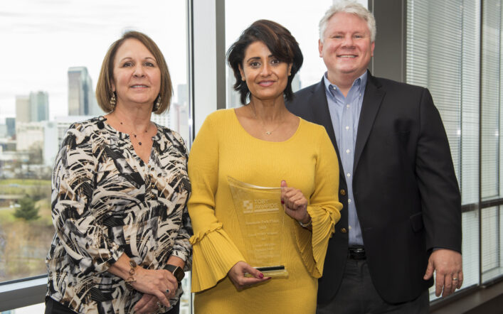 Collett's Amani Abdul Wins the Prestigious 2020 Local TOBY® Award for Fountain Park Place